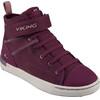 Viking Skien Mid GTX Shoes Junior Plum/Old Rose